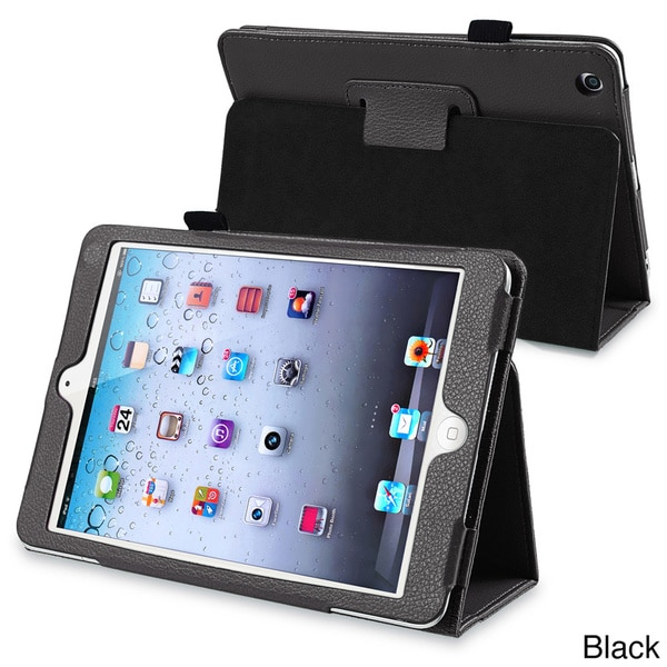 INSTEN Leather Tablet Case Cover with Stand for Apple iPad Mini 1/ 2 Retina Display