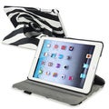 BasAcc Zebra 360-degree Leather Case for Apple iPad Mini 1/ 2 Retina Display