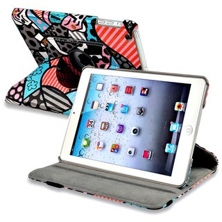 BasAcc Graffiti 360-degree Swivel Leather Case for Apple� iPad Mini