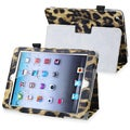 BasAcc Yellow Leopard Leather Case with Stand for Apple� iPad Mini