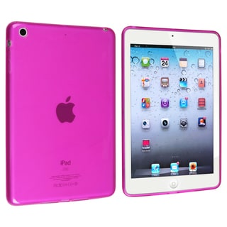 BasAcc Frost Clear Hot Pink TPU Rubber Case for Apple� iPad Mini
