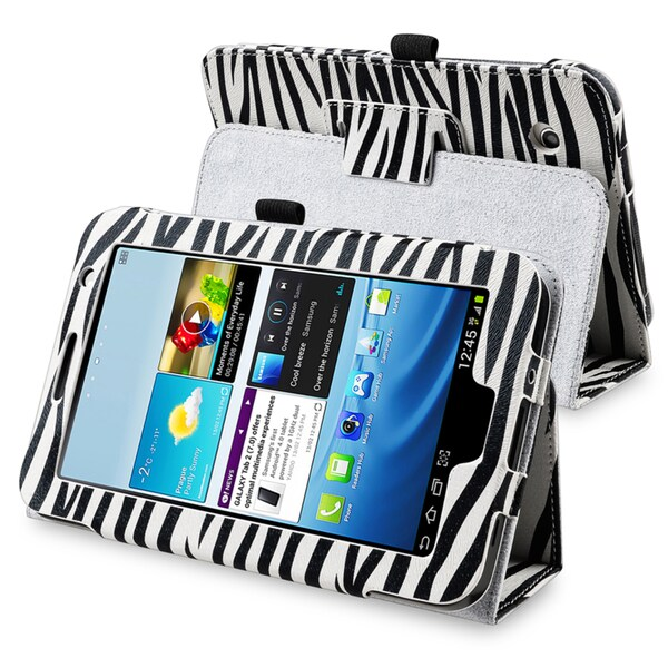BasAcc Leather Case with Stand for Samsung© Galaxy Tab 2 7.0 P3100
