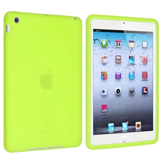 BasAcc Green Silicone Case for Apple iPad Mini 1/ 2 Retina Display