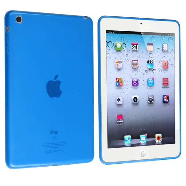 BasAcc Frost Clear Light Blue TPU Rubber Case for Apple® iPad Mini