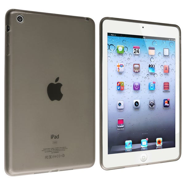 BasAcc Frost Clear Smoke TPU Rubber Case for Apple® iPad Mini