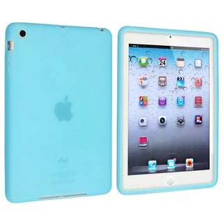BasAcc Sky Blue Silicone Case for Apple iPad Mini 1/ 2 Retina Display