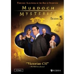 Murdoch Mysteries Collection: Season 5 (DVD)