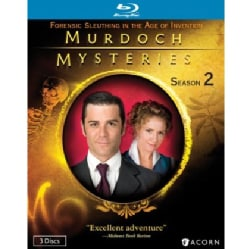 Murdoch Mysteries Collection: Season 2 (Blu-ray Disc)