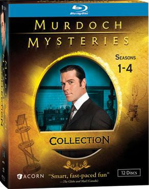 Murdoch Mysteries Collection: Seasons 1-4 (Blu-ray Disc)