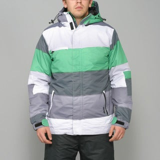 Zonal Men's 'Transit' Fern Green Snowboard Jacket