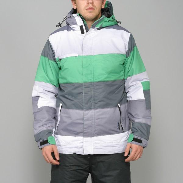 Zonal Men's 'Transit' Fern Green Snowboard Jacket