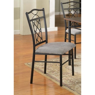 Zelda Black Dining Chairs (Set of 2)