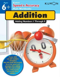 Addition: Adding Numbers 1 Through 9: Ages 6+ (Paperback)