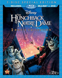 The Hunchback of Notre Dame/The Hunchback of Notre Dame 2 (Blu-ray/DVD)