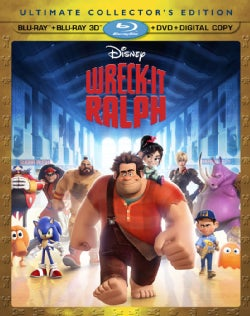 Wreck-It Ralph 3D (Blu-ray/DVD)