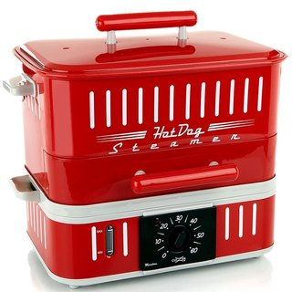 CuiZen Hotdog Steamer/ Bun Warmer