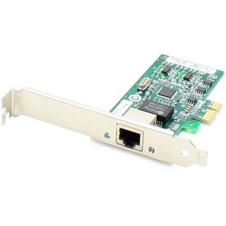 AddOn 10/100/1000Mbs Single Open RJ-45 Port 100m PCIe x4 Network Inte