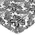 Sweet JoJo Designs Sophia Damask Fitted Crib Sheet