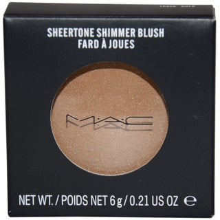 MAC Sheertone Shimmer &#39;Trace Gold&#39; Blush Powder