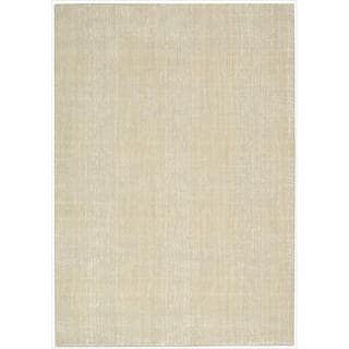 Nepal Manil Curved Lines Rug (9'6 x 13)