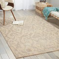 Nepal Ivory Grey Rug (9&#39;6 x 13)