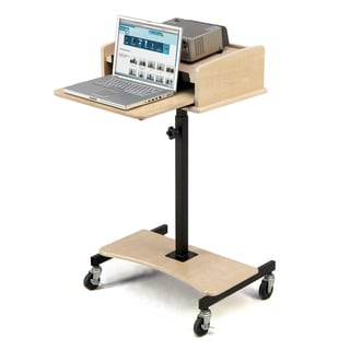 Oklahoma Sound Fusion Maple Laptop Speaker Stand
