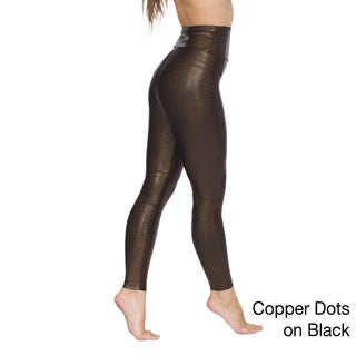 American Apparel Women's Shiny Metallic High-waist Legging