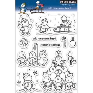 Penny Black 'Cold Nose Warm Heart' Clear Stamps Sheet