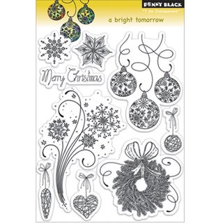 Penny Black 'A Bright Tomorrow' Clear Stamps Sheet
