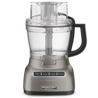 KitchenAid RKFP1333CS Cocoa Silver 13-cup Food Processor (Refurbished)
