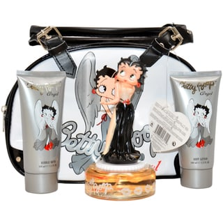 Betty Boop Angel Women's 4-Piece Gift Set