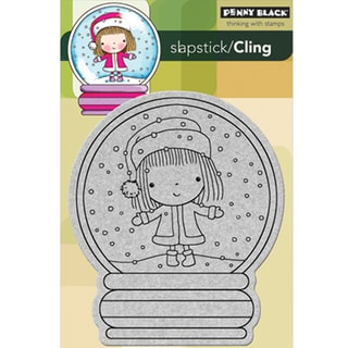Penny Black 'Christmas Stage' Cling Rubber Stamp