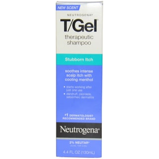 Neutrogena T-Gel Therapeutic Stubborn Itch 4.4-ounce Shampoo