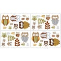 Sweet JoJo Designs Night Owl Wall Decal Stickers (Set of 4)
