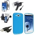 BasAcc Case/ Charger/ Protector/ Holder for Samsung Galaxy S III/ S3