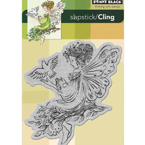 Penny Black 'Angel of Peace' Cling Rubber Stamp