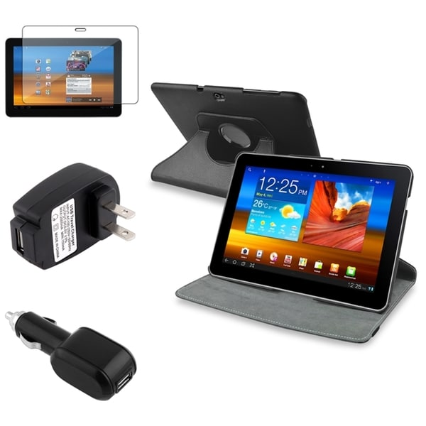 BasAcc Case/ Screen Protector/ Chargers for Samsung© Galaxy Tab 10.1