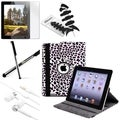 BasAcc Swivel Case/ Protector/ Stylus/ Headset/ Wrap for Apple iPad 2