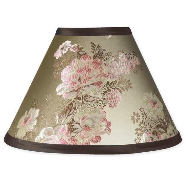 Sweet JoJo Designs Abby Rose Brown and Pink Lamp Shade