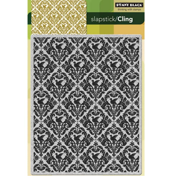 """Penny Black Cling Rubber Stamp 5""""X7.5""""-Harmony"""