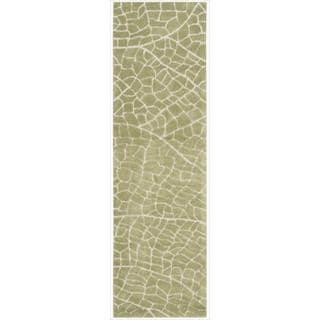 Hand-tufted Escalade Kiwi Blend Rug (2'3 x 8')