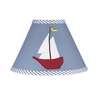Sweet JoJo Designs Come Sail Away Nautical Lamp Shade