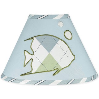 Sweet JoJo Designs Go Fish Ocean Fishing Lamp Shade