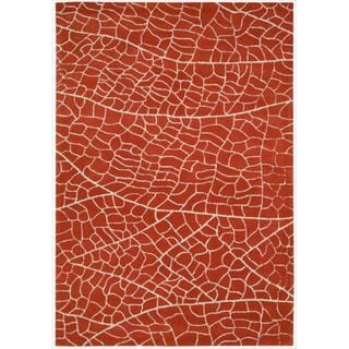 Hand-tufted Escalade Flame Blend Rug (3'9 x 5'9)