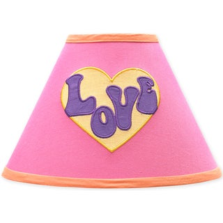 Sweet JoJo Designs Pink Groovy Lamp Shade