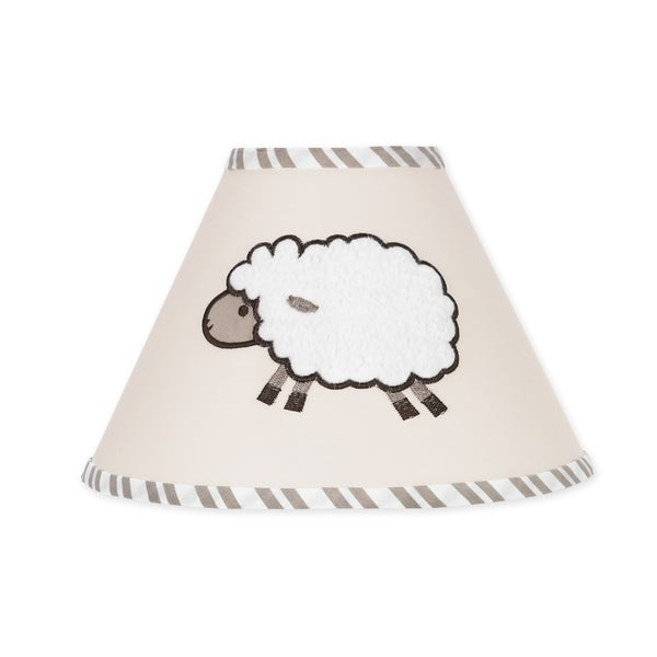 Sweet JoJo Designs Little Lamb Cream Lamp Shade