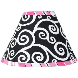 Sweet JoJo Designs Madison Pink and Black Lamp Shade