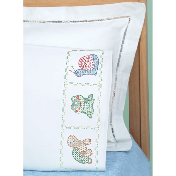 Jack Dempsey Children's Stamped Pillowcase