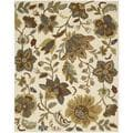 Hand-tufted In Bloom Ivory Wool Rug (7'6 x 9'6)