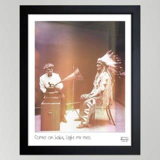 Oliver Gal 'Light My Fire' Canvas Print Art